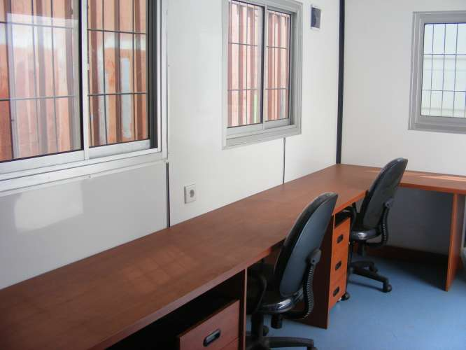 Site office interior