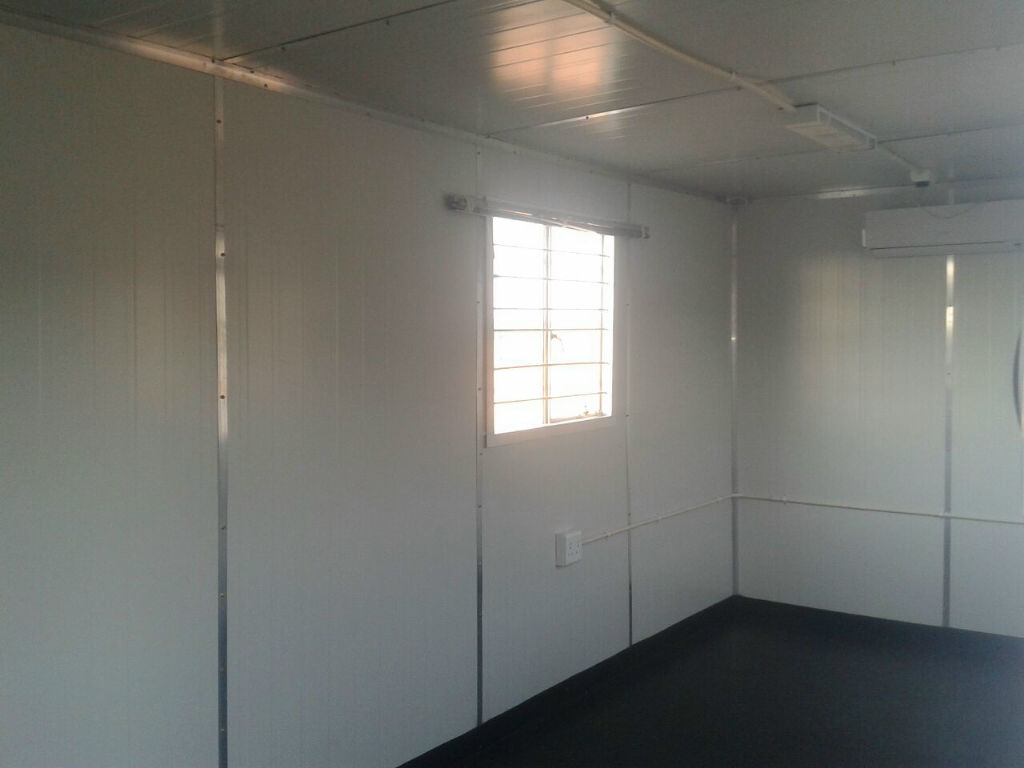 6m Executive Office - interior with insulation and aircon